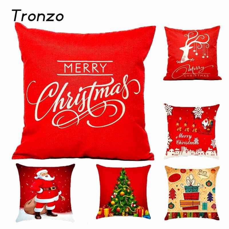 Christmas Decoration Pillow Cover Case