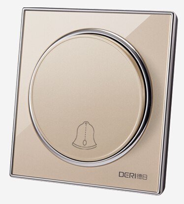 Ding-dong Doorbell Switch With Waterproof Acrylic Panel wall switch Push Press Button Doorbell Switch Control Panel ring ding dong