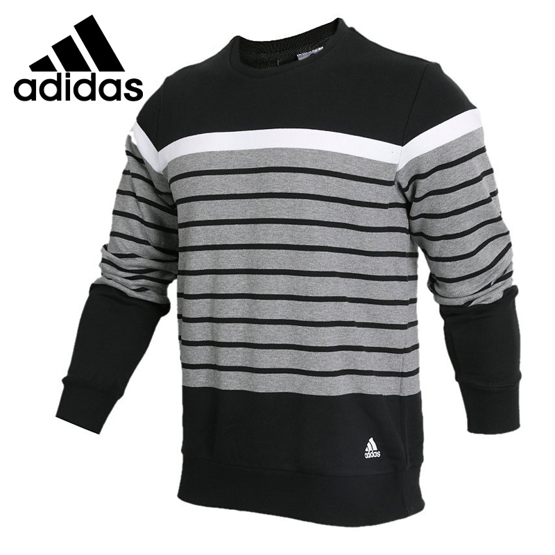 Original New Arrival 2018 Adidas CREW YD BLK Men's Pullover Jerseys Sportswear original new arrival official adidas neo men s breathable o neck pullover jerseys sportswear