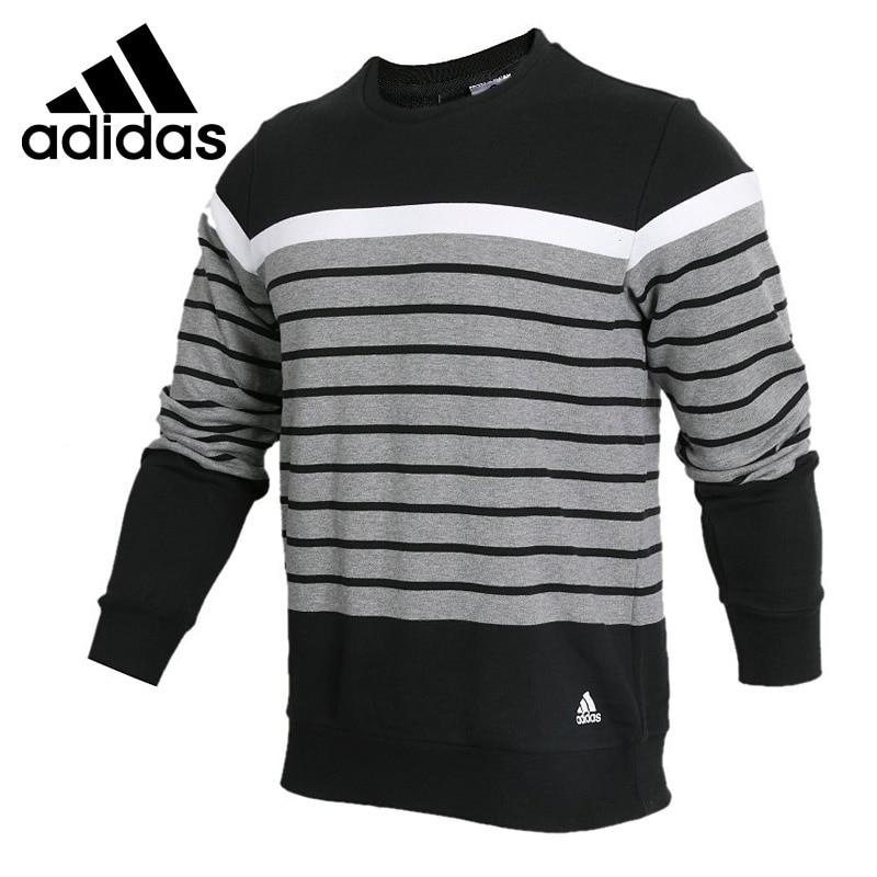 Original New Arrival Adidas CREW YD BLK Men's Pullover Jerseys Sportswear