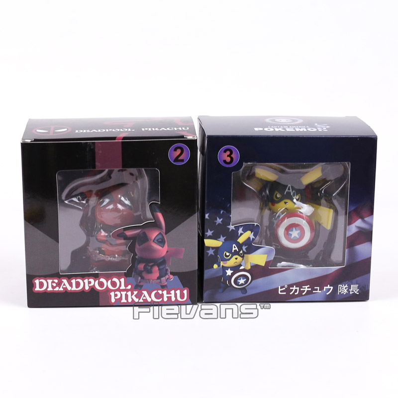 Deadpool Pikachu Action Figure 3