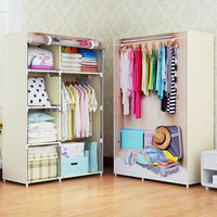 Современный минималистичный домашний креативный арт мебель для спальни переносные шкафы нетканые многоцелевые шкафы для хранения одежды