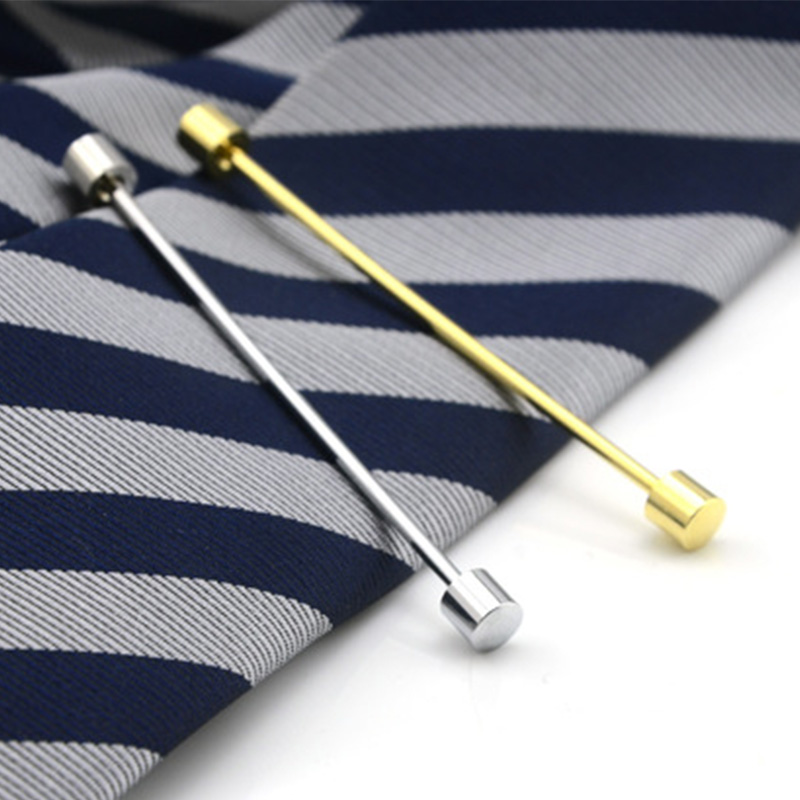 2018 Fashion Skinny Collar Pin For Mens French Shirt Collar Stays Wedding Party Suits Slim Tie Pins Male Collar Tie Bar