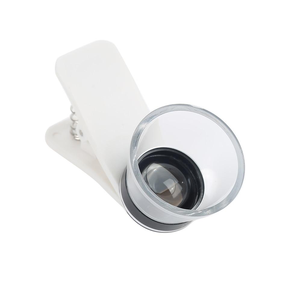 Mobile Phone Lenses Camera Lentes HD Microscope 25x Macro Lens For iPhone Xiaomi redmi 2 3 S 4 note 3 MI4 MI5 MI6 Samsung