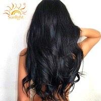 Sunlight Human Hair Brazilian Virgin Hair Body Wave Human Hair Weave Bundles 100 Unprocessed Hair Weft