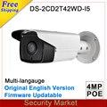 Versión internacional Original 4Mp Bullet DS-2CD2232-I5 cámara DS-2CD2T42WD-I5 reemplazar y DS-2CD3T45-I5 CCTV POE IP cámara de INFRARROJOS