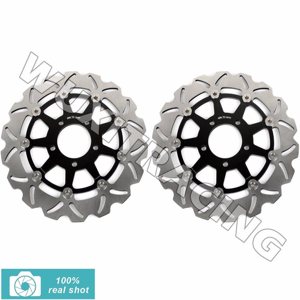 320 мм спереди тормозные диски роторы для Suzuki GSX R 600 750 1000 1300 Hayabusa 96-07 TL 1000 R S 97-03 gsx 1300 1400 Z RZ 01-08 2002