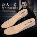 Sigilo Aumentó Plantillas Hombres de Cuero Genuino Cómodo Contra Stench Movimiento Transpirable Zapatos De Cuero Aumentaron Estera 2 Cm3cm