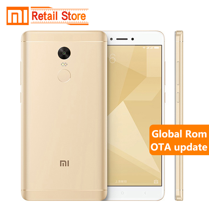 Original Xiaomi Redmi Note 4X Note4 X Snapdragon 625 Octa Core Mobile Phone 3GB