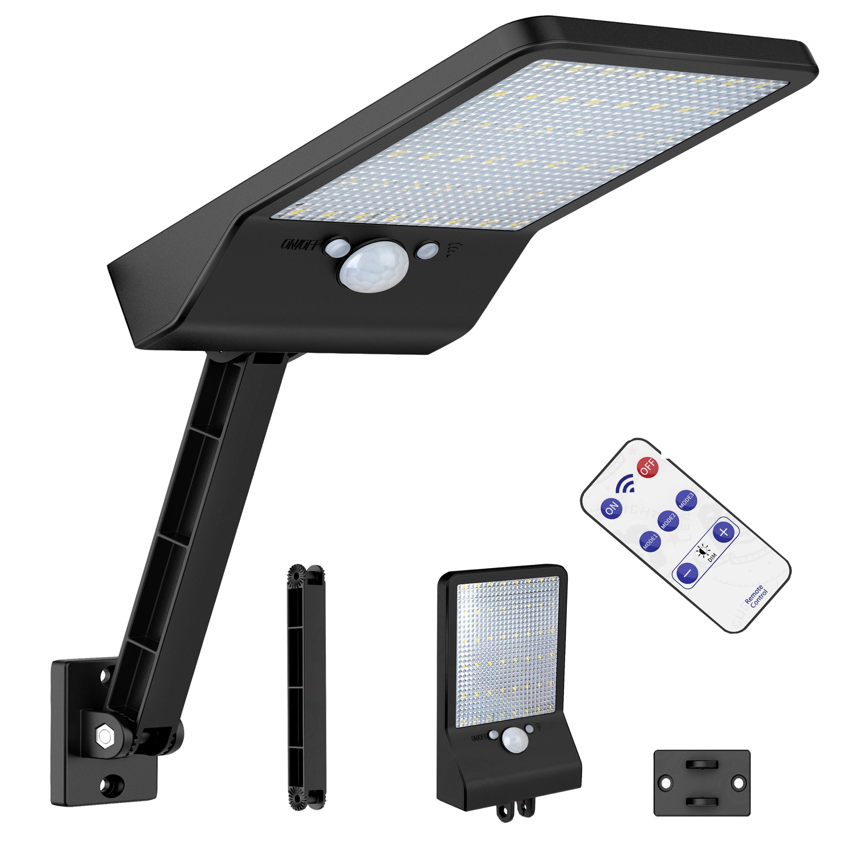 48 LED Solar Lights Outdoor Waterproof Motion Sensor  Fence Lamp Landscape Light Garden Post Cap    Pa