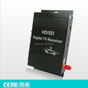 Car ATSC USA Digital TV Receiver HD 1080P HDMI Digital CVBS Mobile Digital TV Receiver TV Tuner HD Receiver Box Set 2
