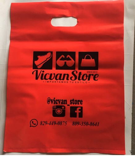 500pcs W30*H40cm(11.8' *15.7') costom name logo promotion plastic gift  bag Brand Designed printed logo hair packaging bags