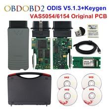Оригинальный VAS5054 OKI Keygen VAS5054A Bluetooth AMB2300 ODIS V4.4.10 для V/AUDI/SKODA/SEAT VAS 5054A VAS6154 wifi UDS для VAG