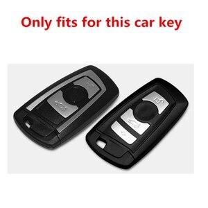 Image 2 - TPU araba anahtarı durumda oto anahtar koruma kapağı BMW için 1/3/5/7 serisi X3 X4 M2/3/4 araç tutucu kabuk renkli araba şekillendirici aksesuarları