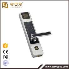 zinc alloy fingerprint biometric door lock digital password door lock with touch screen - Biometric Door Lock