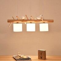 Современные подвесные светильники кухня светильники для обеденная птицы дома Подвесная лампа ресторан кафе украшения висит освещение