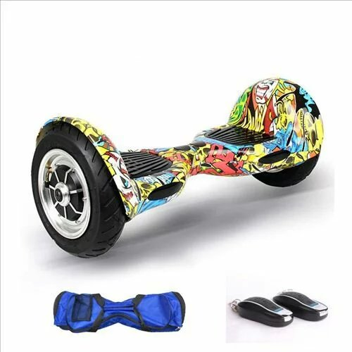UL2272 Zweirad Smart Balance Elektroroller Hoverboard 10 Zoll - Radfahren - Foto 3
