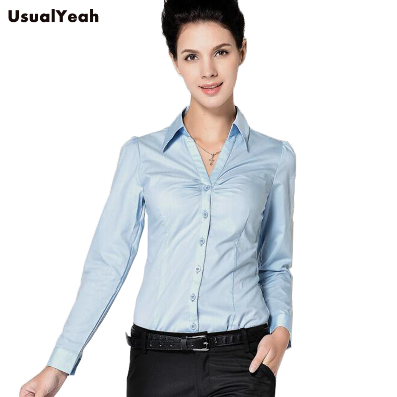 New Ladies Long Sleeve Body Shirt Women Slim Fit Turn Down Collar Formal V Neck White Blue Blouse For Work Wear Sy0253 S Xxl Blue Blouse Blouse For Workbody Shirt Aliexpress Beautiful loose fit linen womens shirt with short sleeves. us 16 31 20 off new ladies long sleeve body shirt women slim fit turn down collar formal v neck white blue blouse for work wear sy0253 s xxl blue