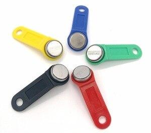 50 sztuk/partia RW1990 wielokrotnego zapisu klon RFID TM dotykowy klucz pamięci RW1990 ibutton znacznik RFID Sauna klucz może skopiować może zmienić kod