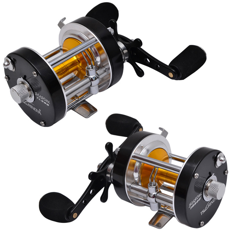 Tsurinoya TL500/TR500 8BB 5.2:1 312g  Full Metal Trolling Fishing Reel Left/Right Hand Jigging Boat Reels Bait Cast Wheel 1 65m 1 8m high carbon jigging rod 150 250g boat trolling fishing rod big game rods full metal reel seat sic guides eva handle