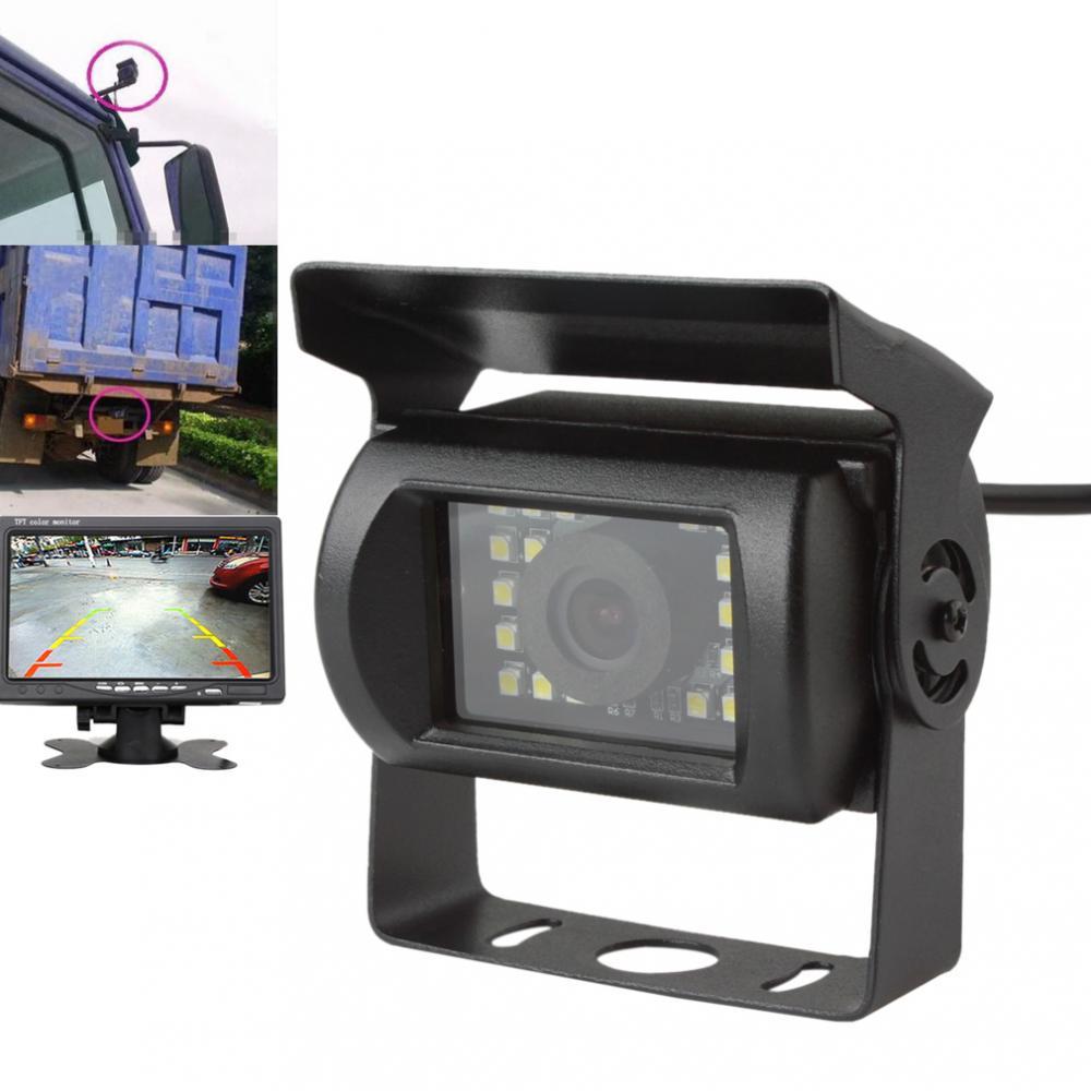 Câmara de Estacionamento Reverso do carro Anti-Choque LEVOU Ônibus Caminhão Van Monitor Rear View Night Vision Invertendo Backup Câmera