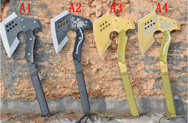 FBIQQ CS ir a través de fuego AXE camping AXE ingenieros axe tomahawk axe 939fd955ac6