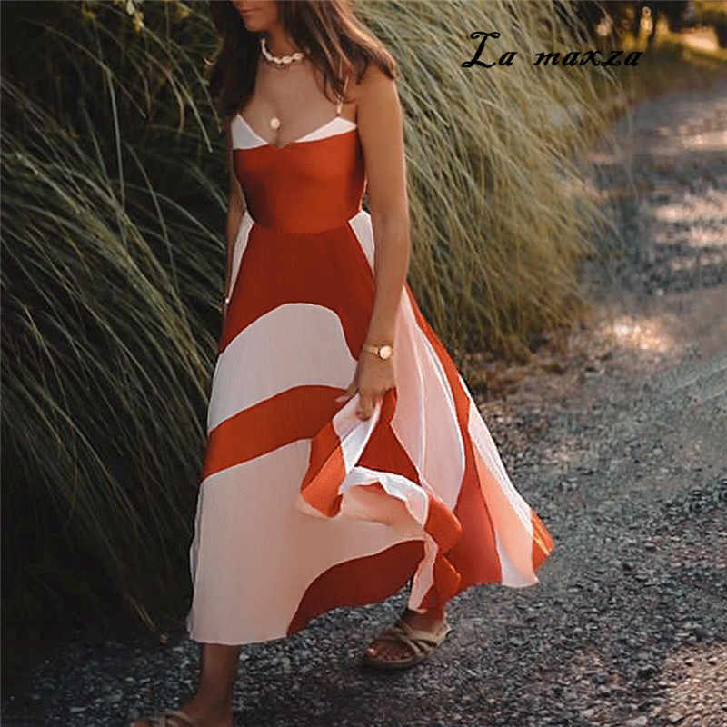 2019 Women Summer Vintage Dresses Elegant Sexy Dresses Party Night Club Long Dress Plus Size