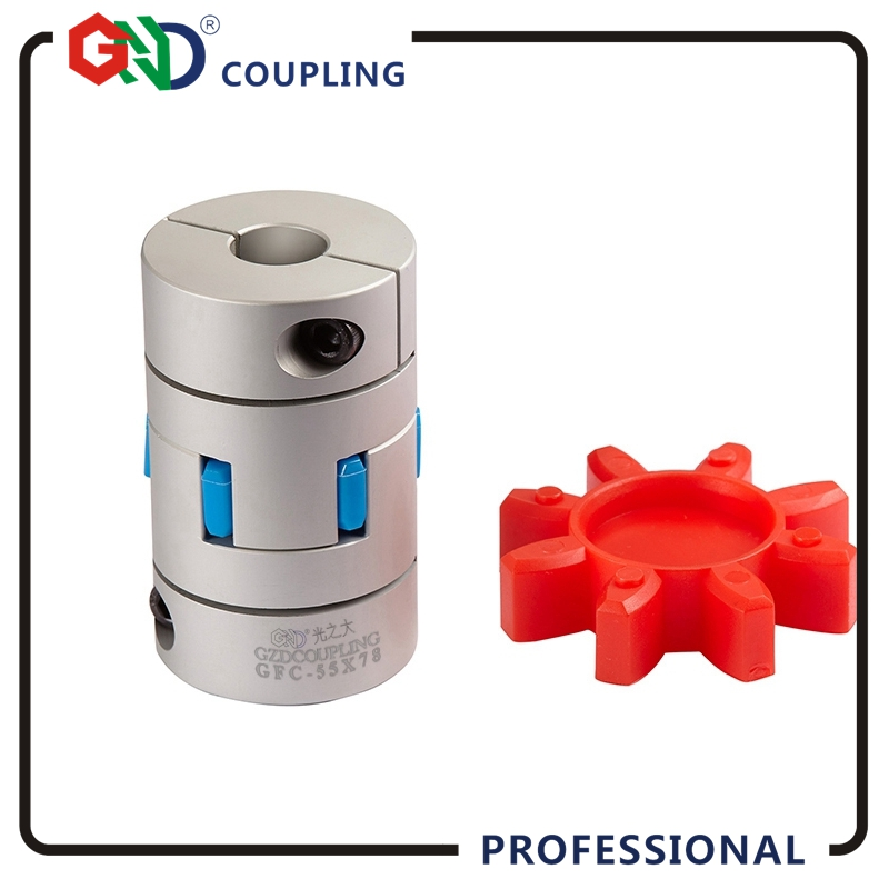 GND gear D20 L30 hole minimum 3mm maximum 10mm Jaw shaped setscrew series flexible coupling shaft coupler servo motor coupling diy 3mm n20 m20 gear motor coupling 2 pcs