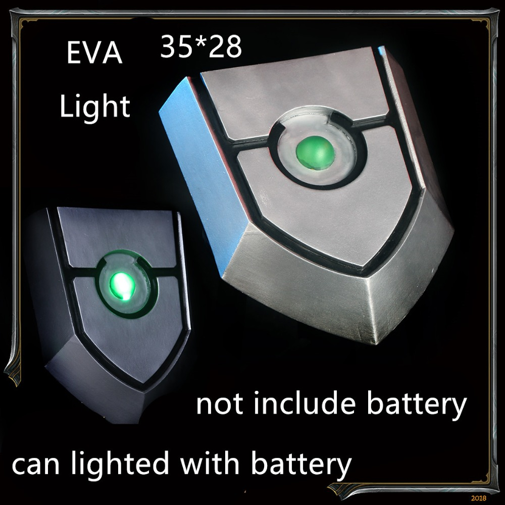 The Rising Of The Shield Hero Shield Anime Cosplay Prop Iwatani Naofumi Shield Can Lighted
