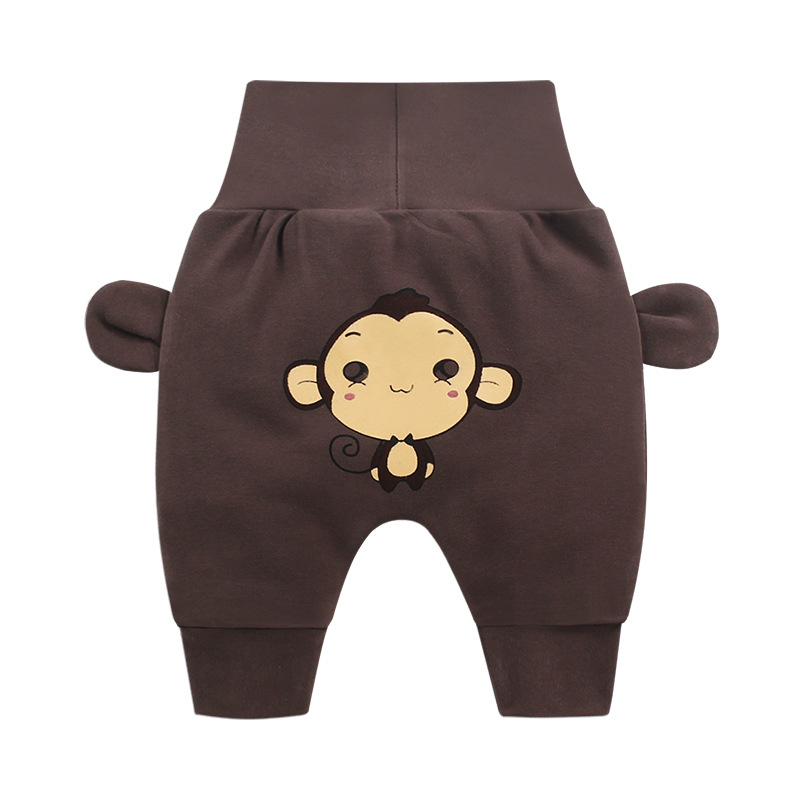Fashion Popular Baby Boy Casual Comfortable Pants Baby Girl Sutumn Warm Trousers(China)
