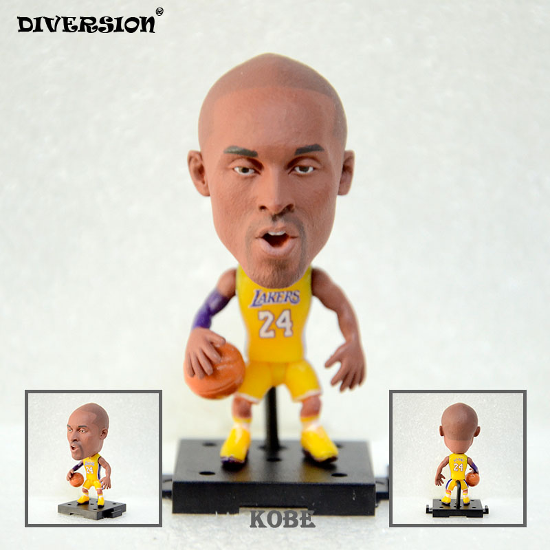 2016 Basketball Lakers 24# kobe Bryant 2.5 Toy Doll Figurine