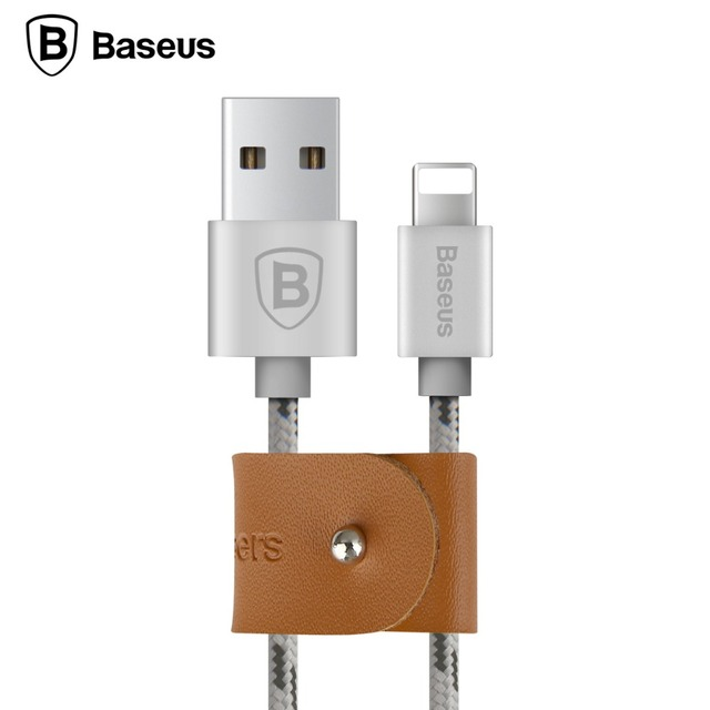 Baseus 0.5m / 1m / 1.5m USB Cable Nylon Braided Fast Data Sync Charging Charger Cable For iPhone 7 6 6s Plus 5 5s SE iPad iPod