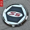 ABS chrome Топливного бака крышка Отделка стайлинга Автомобилей для 2013 JAC Уточнить S5