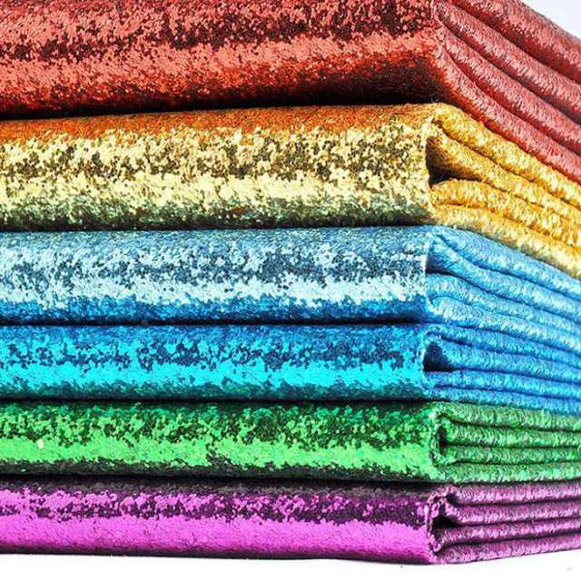 placeholder 100x130cm Sequins Chunky Glitter Vinyl Fabric For Wedding  Decoration 3db80927e6bc