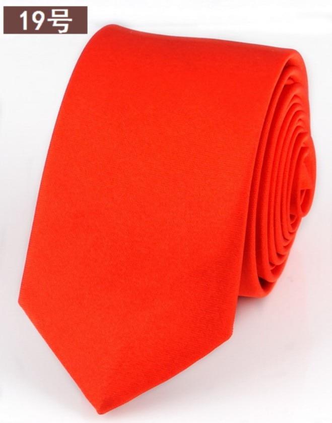 Fashion Slim Black Tie For Men 5cm Narrow Casual Arrow Skinny Red Necktie Man Accessories Simplicity For Party Formal Ties