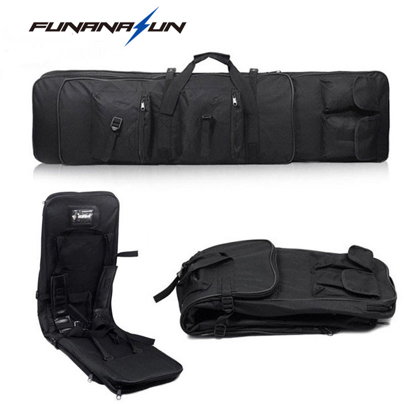 85cm/100cm/120cm Military Shotgun Molle Backpack Airsoft Square Bag Rifle Shoulder Backpack Hand Carry Gun Protection Case new 4u industrial computer case parkson 4u server computer case huntkey baisheng s400 4u standard computer case