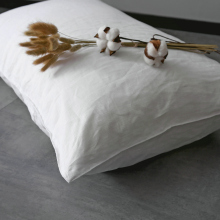 Hand Zipper Linen Pillowcase 100%French Pillowcover 1Pc Free Shipping