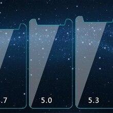 HD 2.5D 0,28 мм ультратонкий универсальный закаленное Стекло пленка для 3,5 4,3 4,5 4,7 5,0 5,3 5,5 5,7 6,0 дюймов спереди Экран защитная пленка