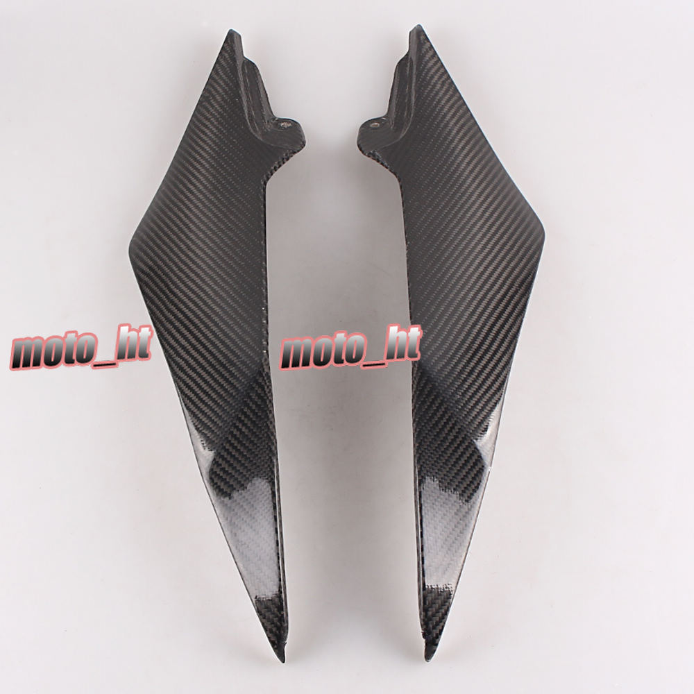 Carbon Fiber Tank Side Cover Panel Fairing for Yamaha YZF R6 2008 2009 2010 2011 2012 2013 2014 2015 car rear trunk security shield shade cargo cover for nissan qashqai 2008 2009 2010 2011 2012 2013 black beige