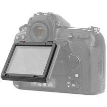 غطاء واقي شاشة LCD من الزجاج البصري لكاميرا نيكون D750 D850 D500 D7500 D5 D4s D800 D810 فيلم واقي لشاشة DSLR