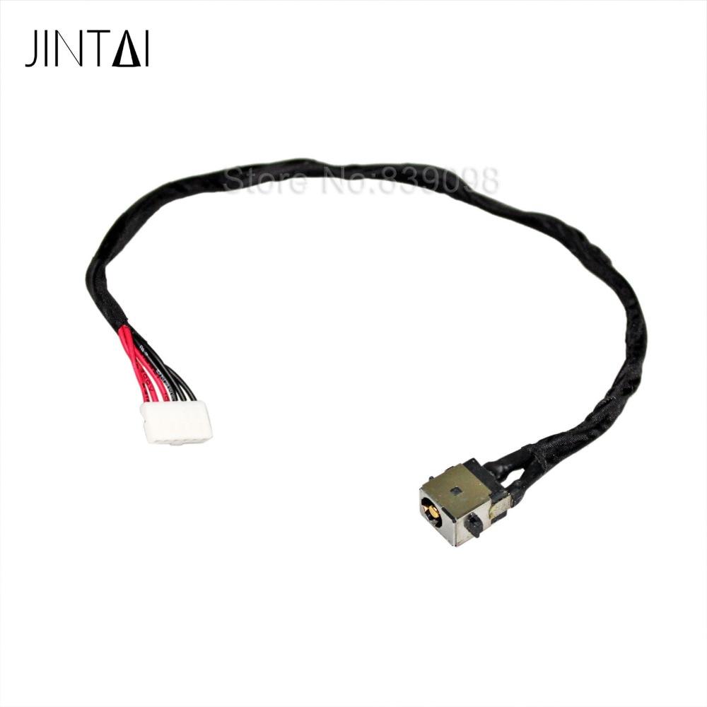 Jintai LAPTOP DC AC Power Jack Socket Connector Cable For Asus R510C X450 X751 F751 P450C X751YI X751SA X751LX материнская плата asus h81m r c si h81 socket 1150 2xddr3 2xsata3 1xpci e16x 2xusb3 0 d sub dvi vga glan matx