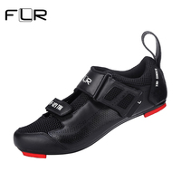 FLR Cycling Shoes Road Bike Shoes Men Racing Athletic Sneakers Professional Triathlon Breathable Ultralight Self Lock Shoes