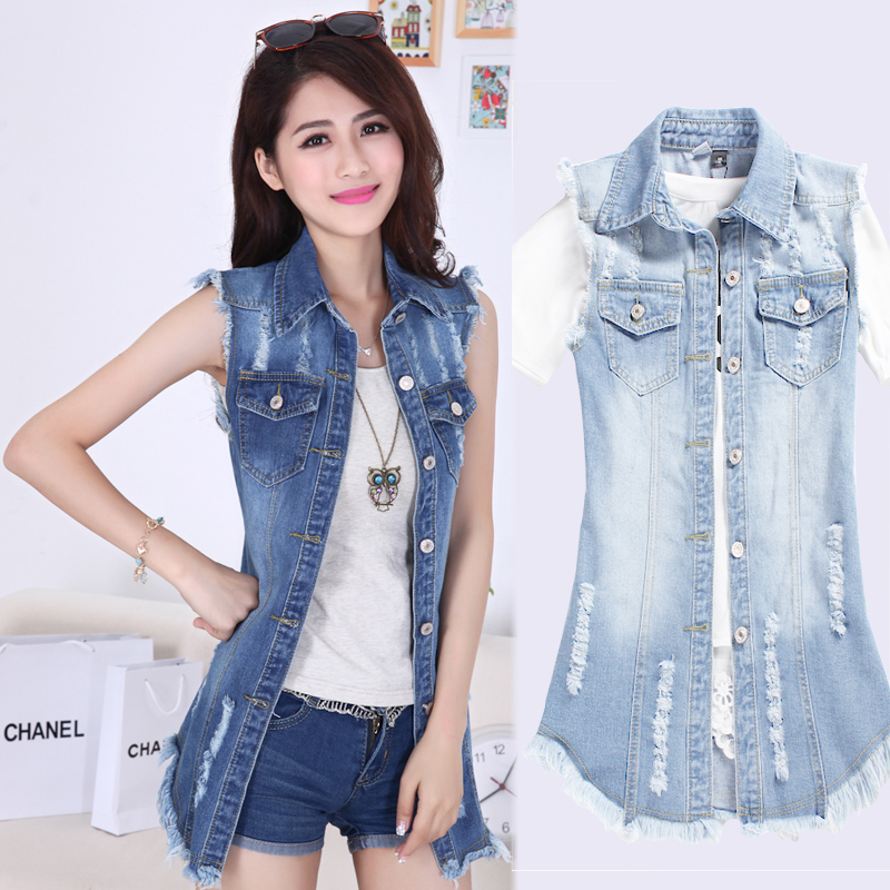 Aliexpress.com : Buy Fashion Autumn Coats Women Denim jackets ...