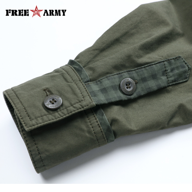 Army Pattern Men's Shirt 5