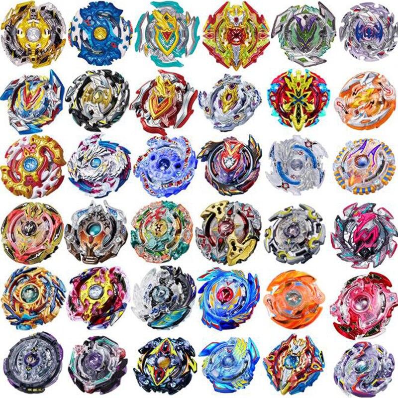 Au hasard 30 pcs Beyblade Burst Métal Fusion 4D Bey Lame Bayblade Jouet Vente Toupie Sans Lanceur Jouets Pour Enfants