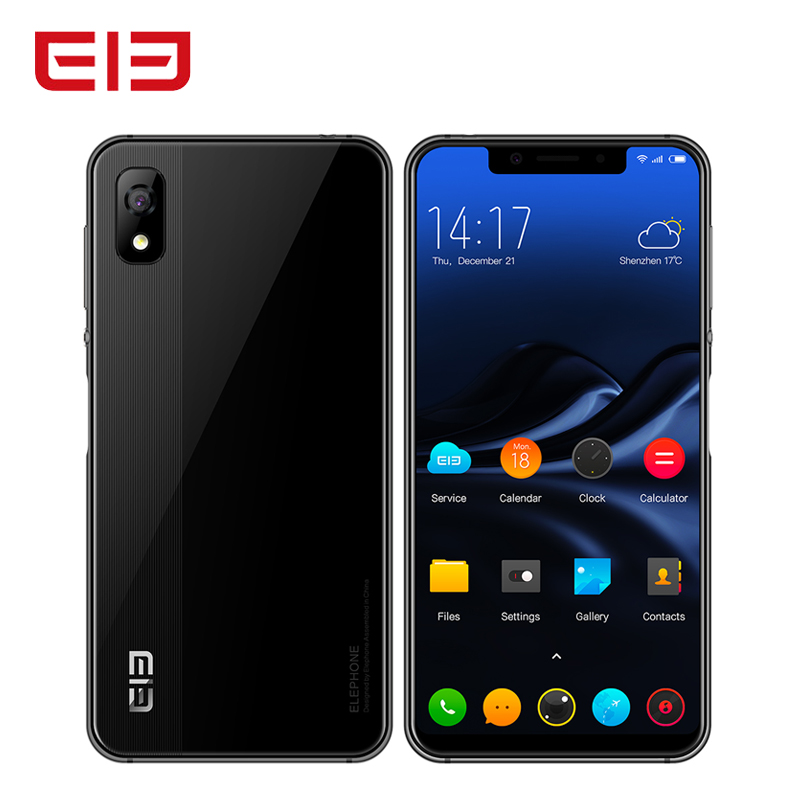 "Elephone A4 Smartphone Android 8.1 3GB+16GB MTK6739 Quad Core 5.85""18:9 Face ID Fingerprint 8MP Cam 4G LTE Mobile Cell Phone OTG"