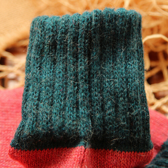 5 Pairs of High Quality Thick Wool Socks