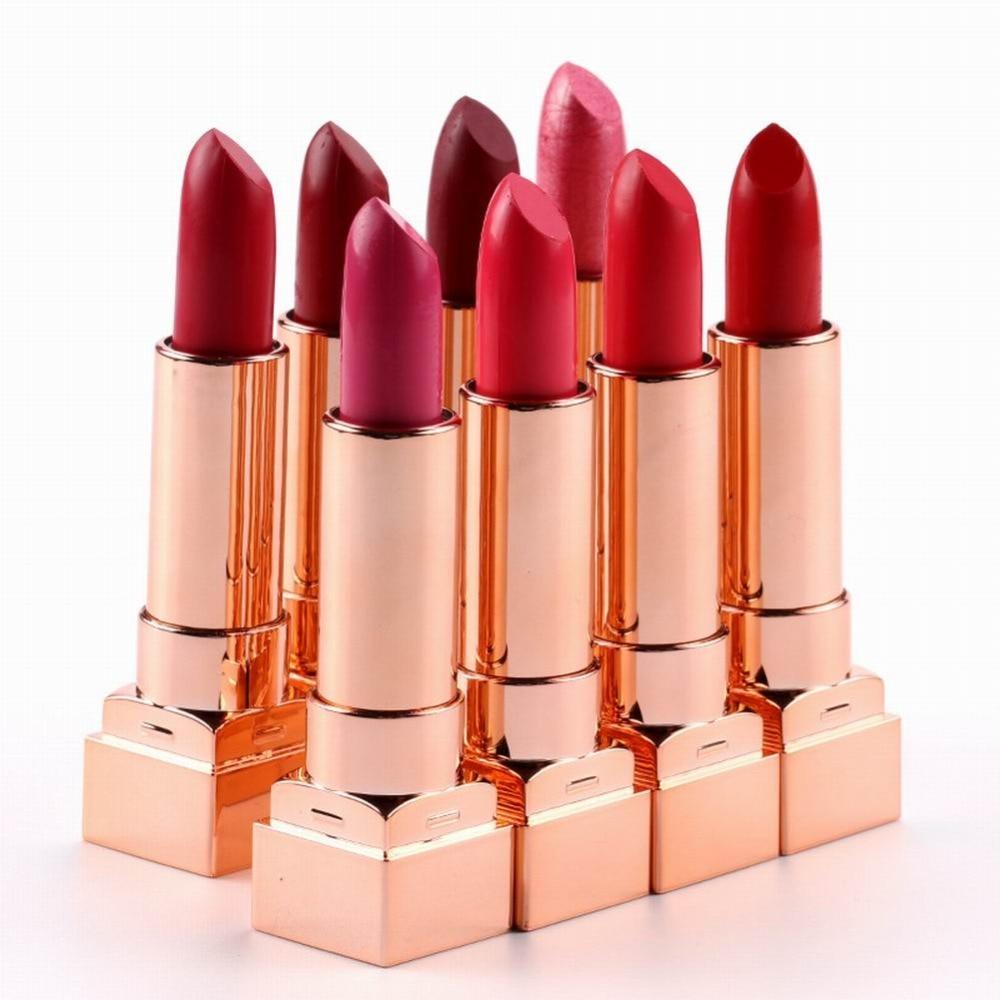 8 Colors Red Velvet Women Lipstick Makeup Matte Waterproof Nude Makeup Long Lasting Lipstick maquiagem