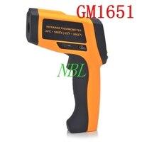 50: 1gm1651digital Инфракрасный термометр лазерной Температура ЖК дисплей Бесконтактный Gun Тестер Диапазон 30 ~ 1650 градусов с USB Интерфейс