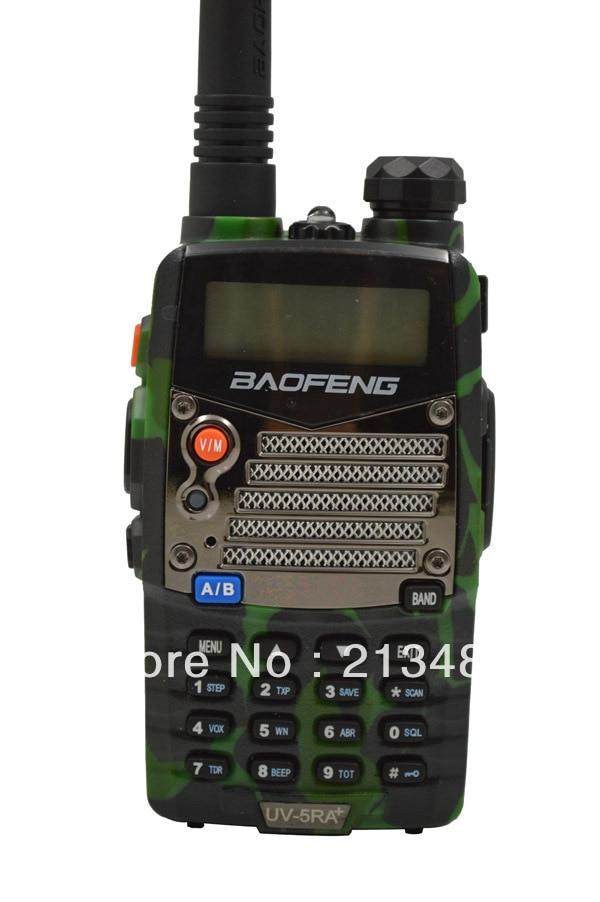 Baofeng UV-5RA+ Plus 136-174MHz(RX/TX) & UHF400-470MHz(TX/RX) Dual Band 4W/1W 128CH FM 65-108MHz With Free Earphone